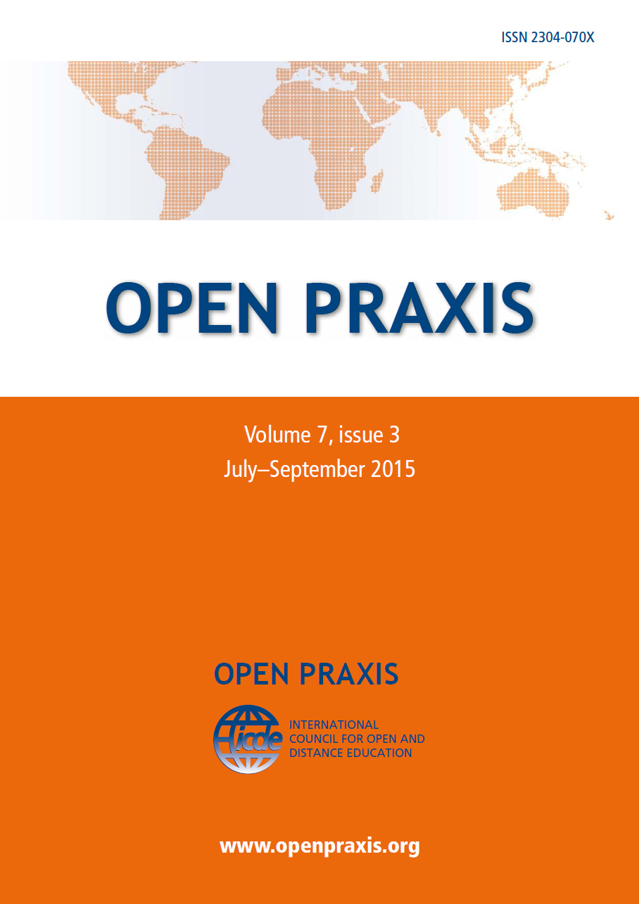 cover Open Praxis 11(1)